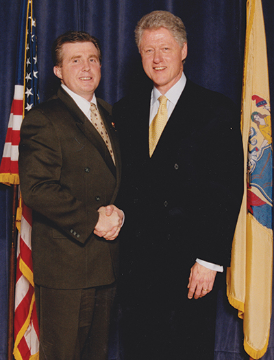 Higgins and Clinton